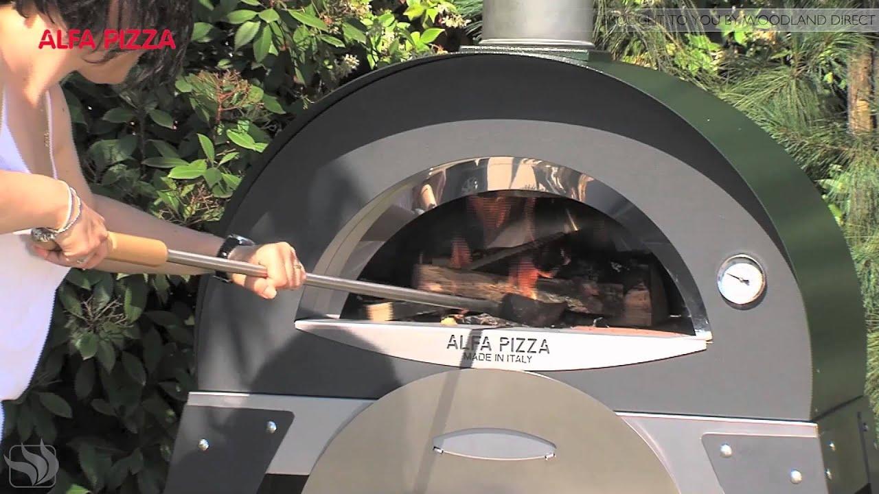 Alfa Pizza Oven  Ciao Model Demo  YouTube