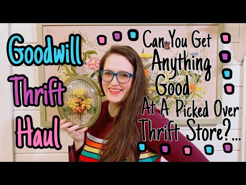 Goodwill THRIFT HAUL | Thrifting At Goodwill For Resale |  It Was Picked Over, What Did I Get?!