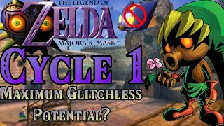 Majora's Mask: Glitchless 3-Cycle Failure   Cycle 1