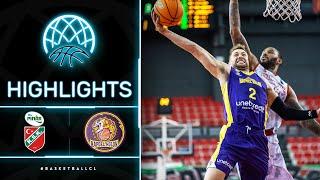 Pinar Karsiyaka V Hapoel Unet-Credit Holon - Highlights   Basketball Champions League 2020/21