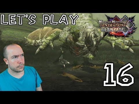 Let's Play Monster Hunter Generations Ultimate - #16: Capture Rathian, Basarios et poissons d'or ! thumbnail