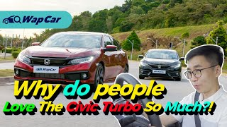 2020 Honda Civic 1.5 Turbo Facelift Review, Best Value For Money C-Segment Sedan! | WapCar