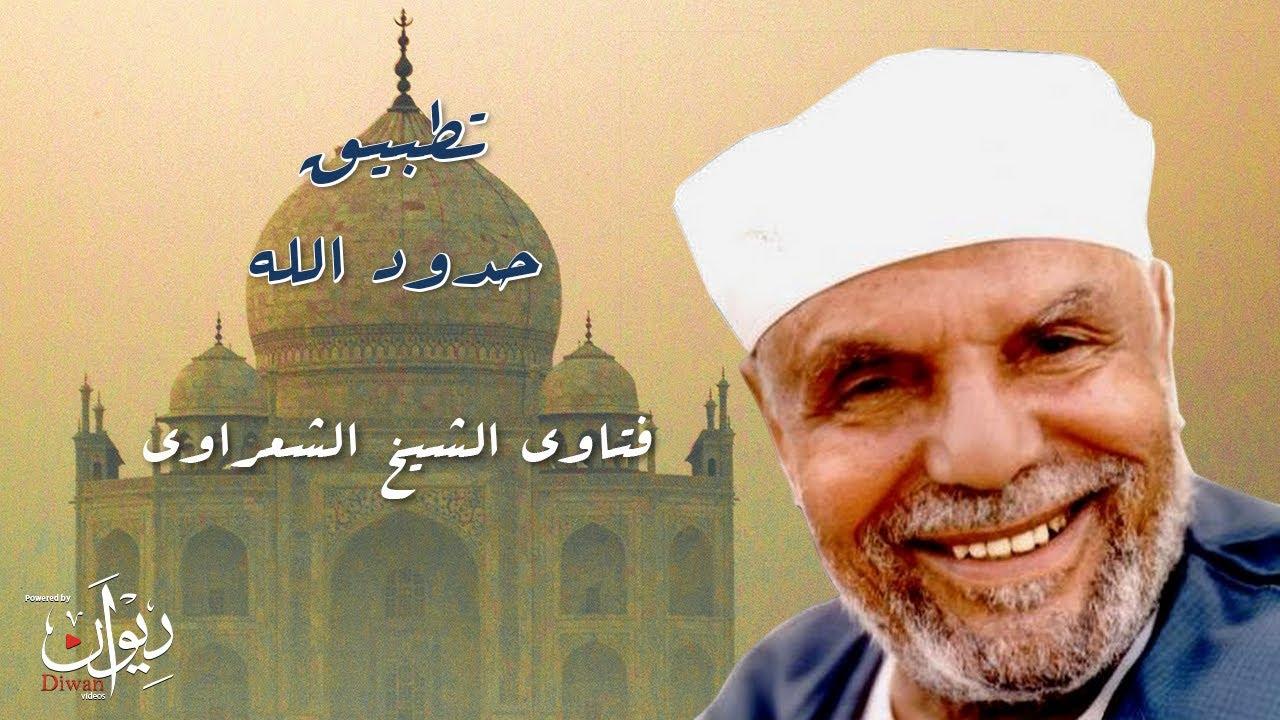 الهدف الدنيوي من تطبيق حدود الله - من فتاوى الشيخ الشعراوي