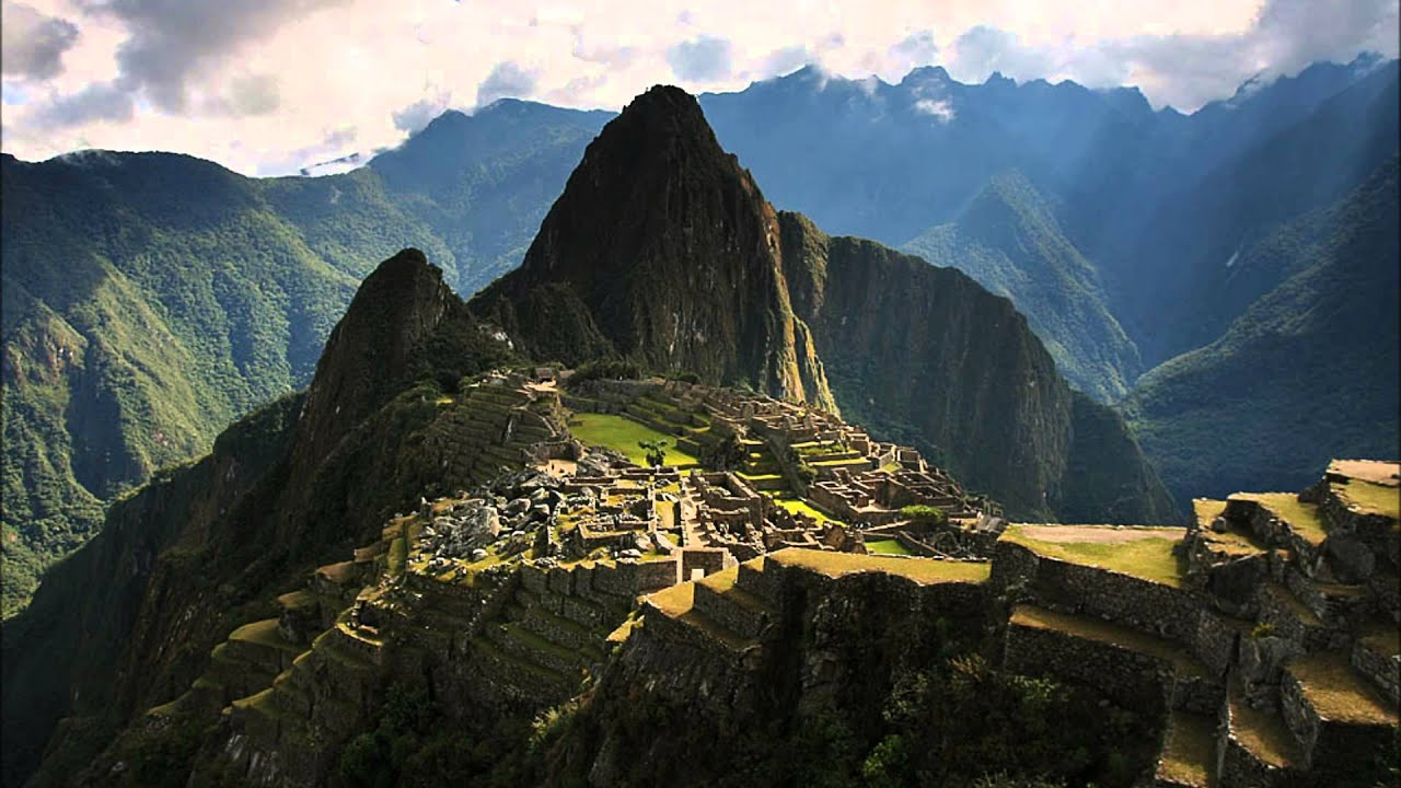 Paisajes Wallpapers Full Hd Machu Picchu Terrace Video Youtube