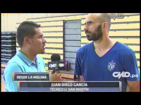 Central Depotiva: Entrevista a Juan Diego García (Vóley)
