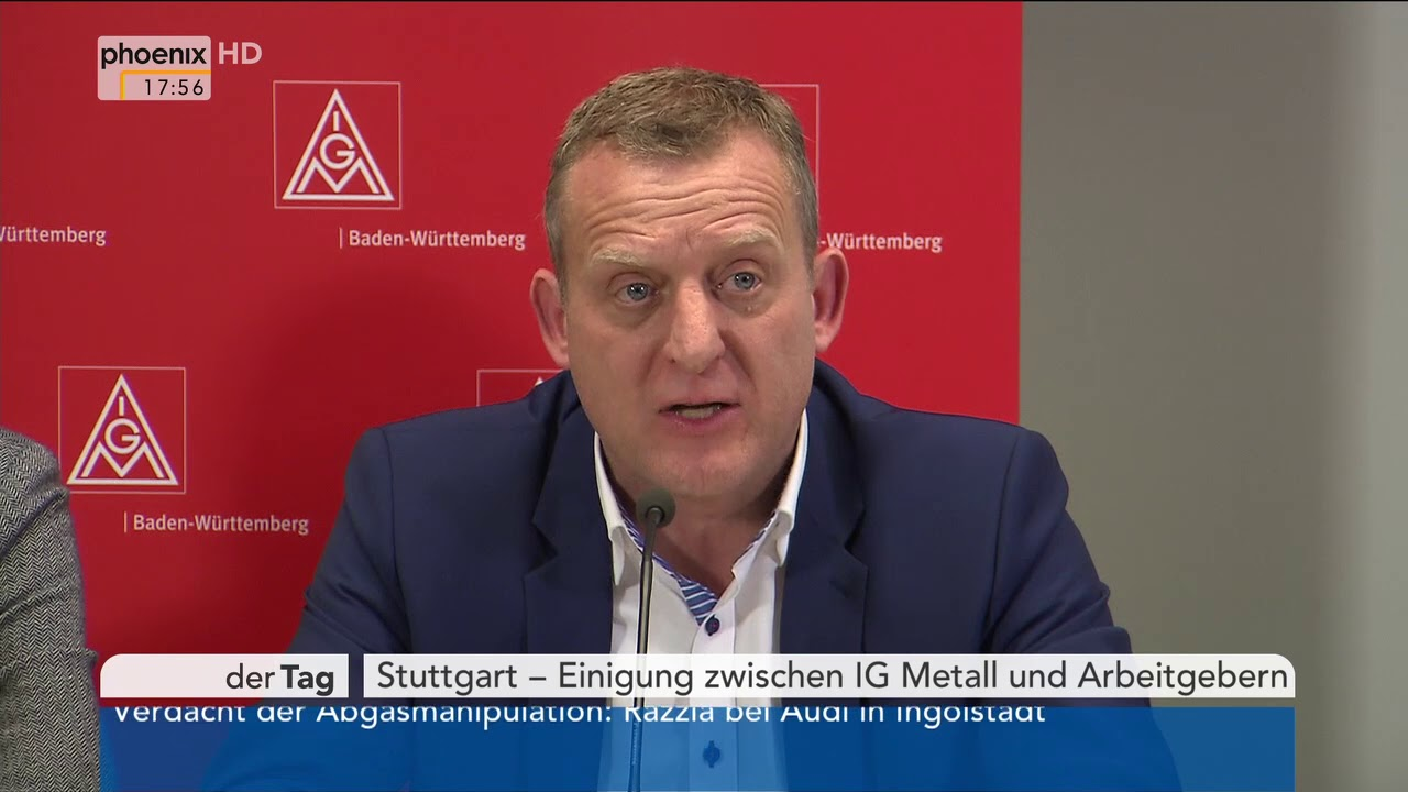 Pressekonferenz Baden-Württemberg