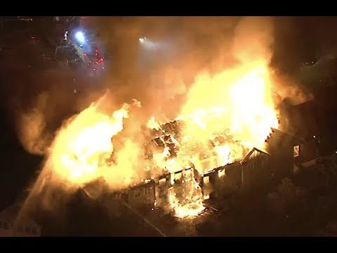 "BREAKING: ""Hugh Fire Sweeps Pennsylvania Retirement Home"" 20 Hurt"