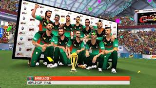 wcc2 world cup Final match gameplay Bangladesh vs England screenshot 2