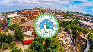 Downtown Greenville SC | Falls Park | Kalyn and Robert