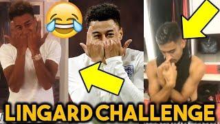 Jesse Lingard Challenge/Celebration (JLingz) & Other Funny Moments Ft Pogba, Rashford, Dele Alli