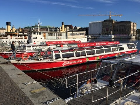 Stockholm Harbor Hop On Off Water Tour: Highlights of Swedish Canal Capital