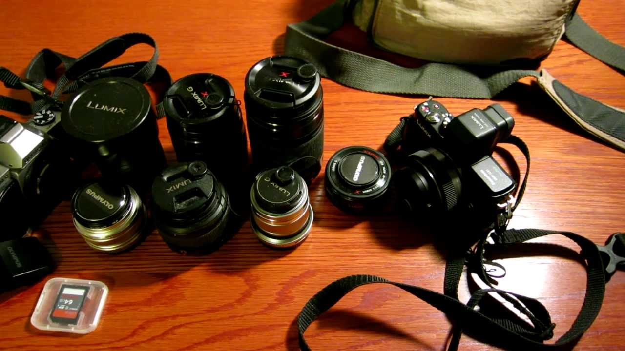 What S In My Camera Bag The Super Fun And Lightweight Micro 4 3 System With Olympus Omd Em5 You
