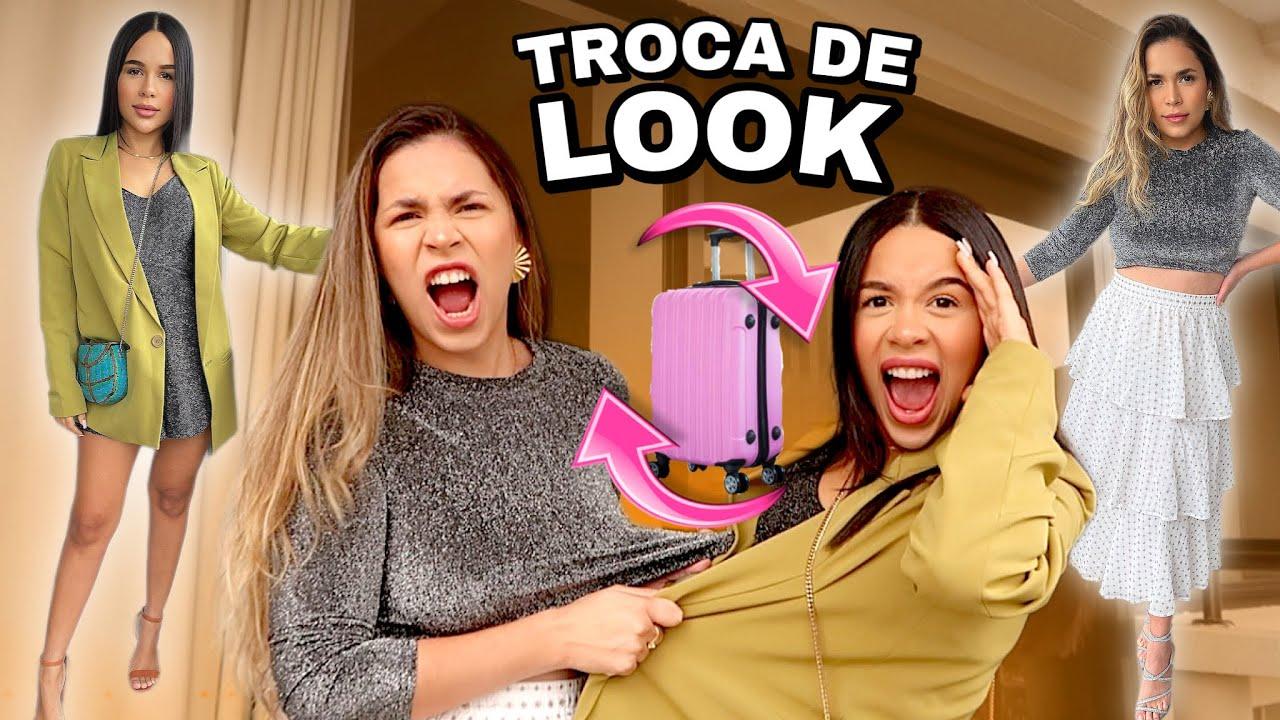 TROQUEI DE LOOK COM MINHA IRMÃ 😱