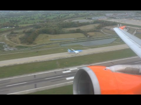 EasyJet Airbus A319 | Gatwick To Newcastle | Takeoff And Landing - EZY819
