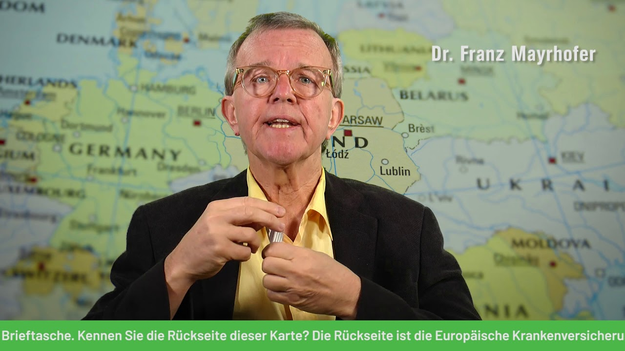 Dr. Franz Mayrhofer unterstützt bei der Europawahl #Die ...