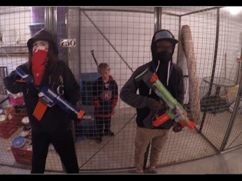 Thumbnail: Nerf War: The Prisoner