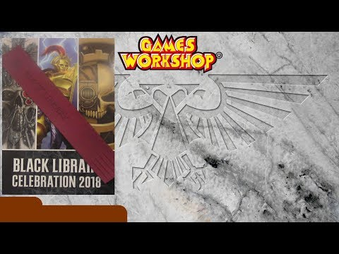 Black Library Celebration 2018 - Gift Book - Review