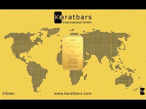 Buy Gold Bullion Online - Karat Bars Intl