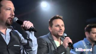 98 degrees performs because of you acoustic live