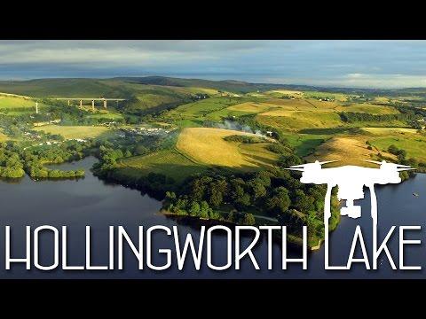 Hollingworth Lake Flight - DJI Phantom 3