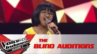 Kiran &quotLost Boy&quot The Blind Auditions The Voice Kids Indonesia Season 2 GTV 2017