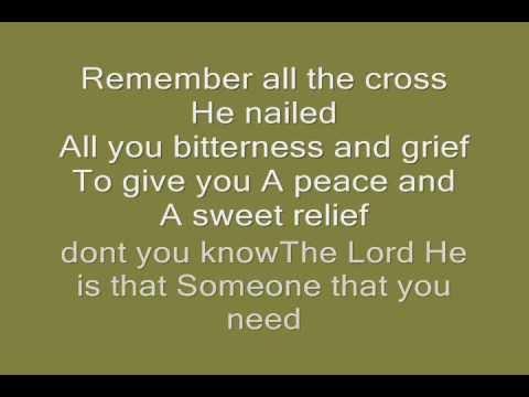 I Give you Jesus & Lyrics.,By Becky Fender ,(Singer Unknown)
