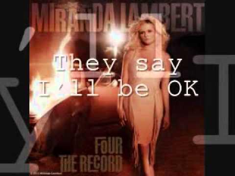 Miranda Lambert   Over You [Lyrics On Screen]