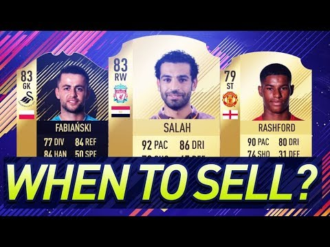 FIFA 18 - When to Sell Players on EA Access & Web App (MARKET WILL GO UP)