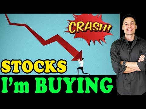 All The Stocks I'm Buying During The 2020 Market Crash!