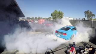 mannequin challenge x hoonigan x ford mustang x pizza party at the donut garage