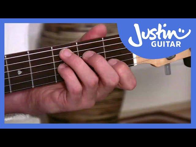 The F Maj7 Chord | JustinGuitar.com