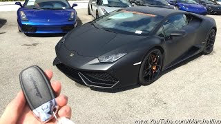 Lamborghini Huracan - Overview and LOUD Race Exhaust Sound!