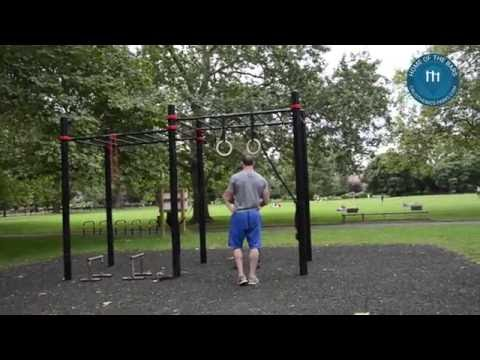 Spot: London - Calisthenics Park - Kennigton Park - Street Workout / Outdoor Fitness