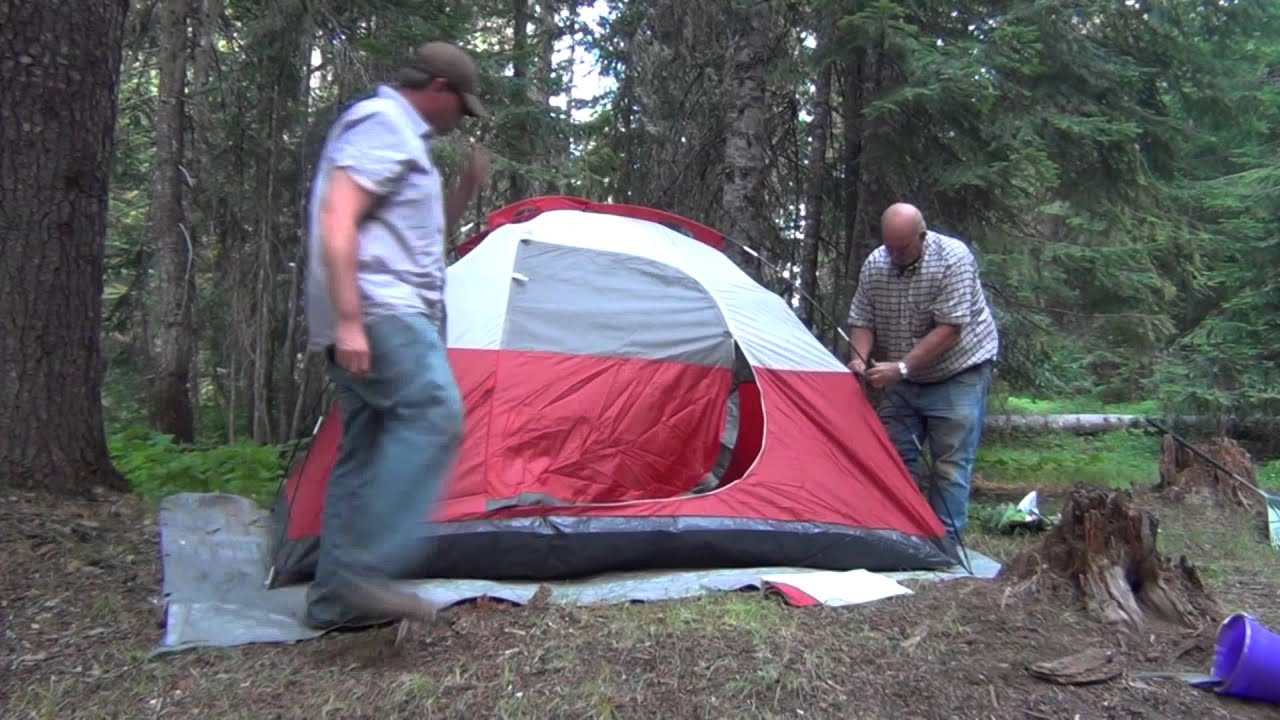 & Coleman 4 Person Tent Review - YouTube