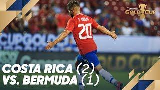 Costa Rica (2) vs. Bermuda (1) - Gold Cup 2019