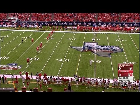 Houston Cougars vs Oklahoma Sooners  09-03-2016