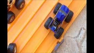 Hotwheels Monster Truck Drag Racing 2