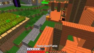 MultiPlayer Minecraft Episode One: Constructing A Library!