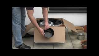 Weber Grill One Touch Master Touch 57 GBS -Unboxing-