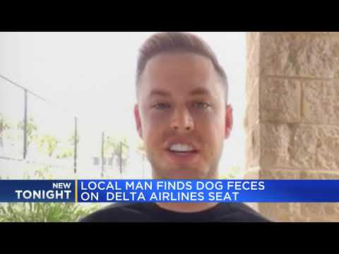 G BiZ - Poop On A Flight! Man Made To Sit In Doo-Doo On Delta