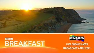 Dorset Landslide Story - BBC Breakfast