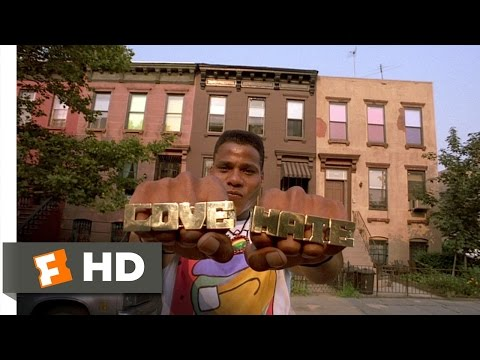 Do the Right Thing (6/10) Movie CLIP - LOVE and HATE (1989) HD