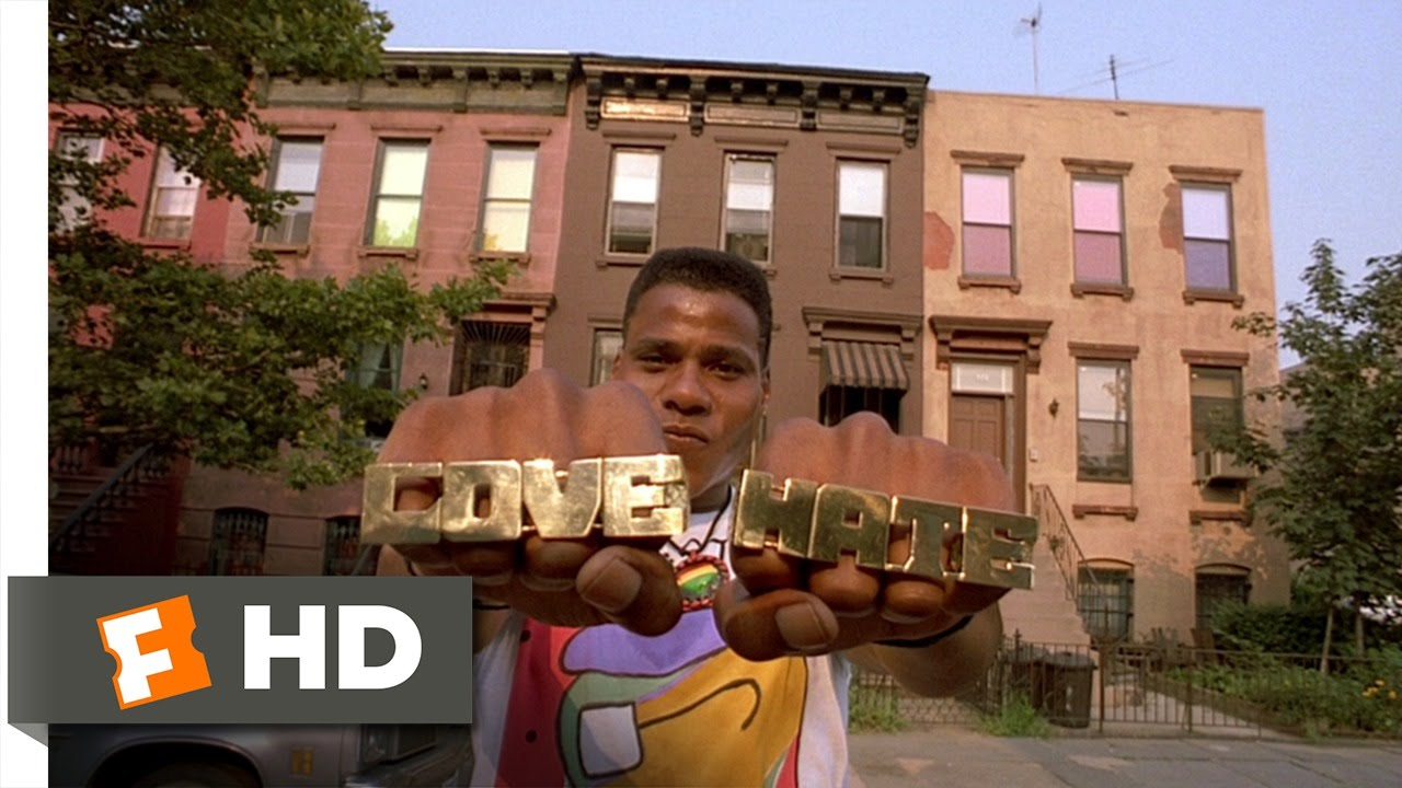 Do The Right Thing 610 Movie Clip Love And Hate 1989 Hd Youtube