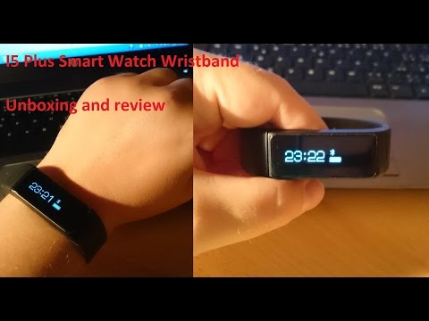 I5 Plus / B5 Plus SmartWatch Unboxing and Review - Sleep Monitoring Sports Tracking Wristband