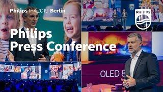 IFA 2019 | Philips Press Conference