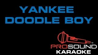 Yankee Doodle Boy, Karaoke video with lyrics
