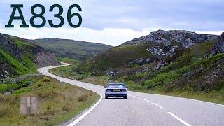 a836 scotland s best roads single camera audi a3 quattro