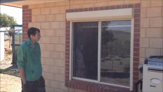Roller Shutter Installation By Tim From Kanmantoo, Sa