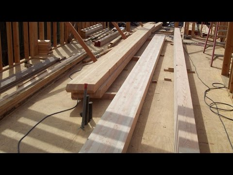 Drilling And Notching Glulam Beam Tips - Home Building and Structural Engineering