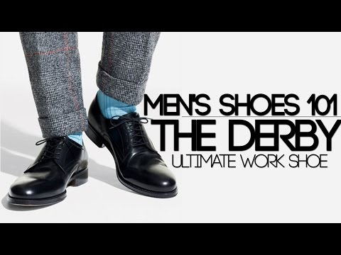 GUIDE TO MEN'S DERBY or Blucher SHOES | HOW TO WEAR and PAIR DERBY SHOES | Mayank Bhattacharya
